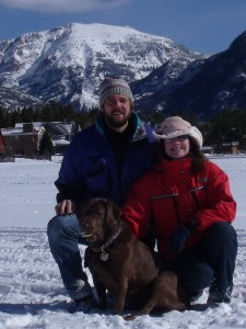 Jim, Steph and Gage - Mt. Baldy